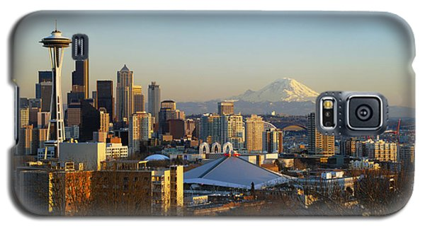 Seattle Cityscape Galaxy S5 Case by Greg Vaughn - Printscapes