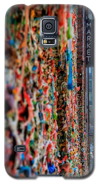 Seattle Gum Wall Galaxy S5 Case by Spencer McDonald