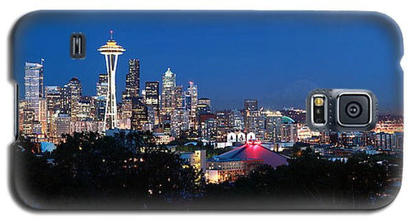 Seattle Panorama At Twilight Galaxy S5 Case