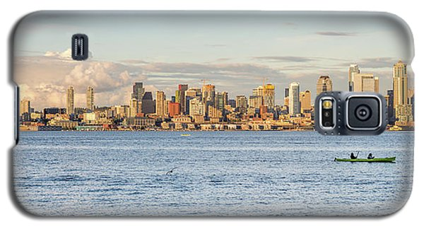 Seattle Skyline 2 Galaxy S5 Case