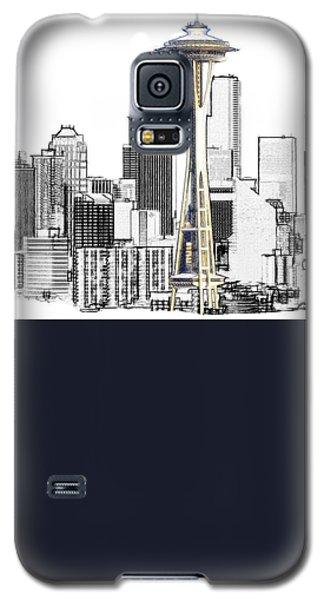 Seattle Skyline Galaxy S5 Case
