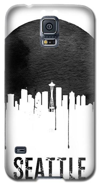 Seattle Skyline White Galaxy S5 Case