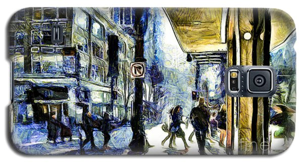 Galaxy S5 Case featuring the photograph Seattle Streets #2 by Susan Parish