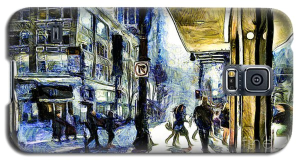 Seattle Streets #2 Galaxy S5 Case