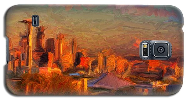 Seattle Sunset 1 Galaxy S5 Case