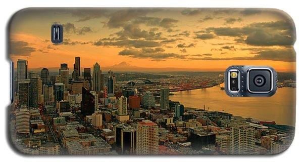 Seattle Sunset Galaxy S5 Case