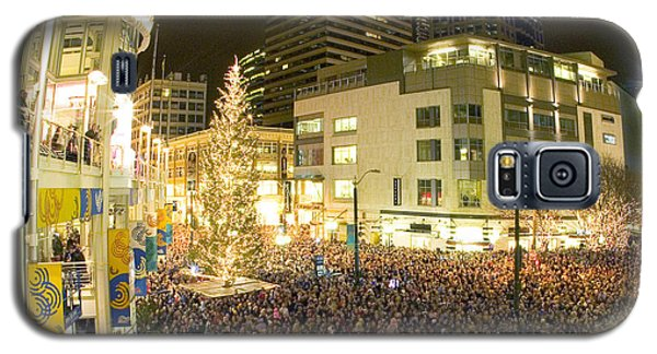 Seattle Westlake Tree Lighting Galaxy S5 Case
