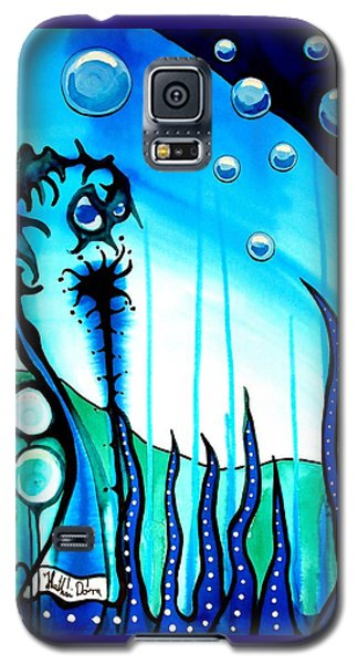 Seaweed - Art By Dora Hathazi Mendes Galaxy S5 Case