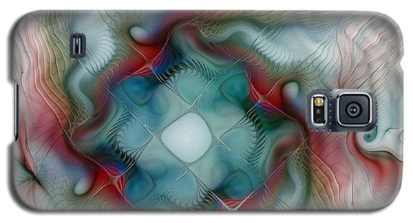 Galaxy S5 Case featuring the digital art Seaworld by Karin Kuhlmann