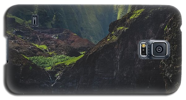 Secluded Kalalau Beach Galaxy S5 Case