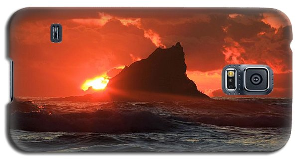 Second Beach Shark Galaxy S5 Case