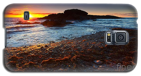 Second Valley Sunset Galaxy S5 Case by Bill  Robinson