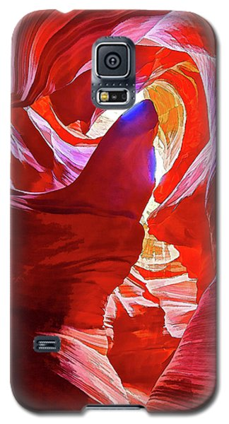 Galaxy S5 Case featuring the photograph Secret Canyon 1 by ABeautifulSky Photography