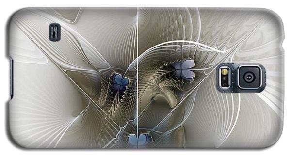 Galaxy S5 Case featuring the digital art Secret Chambers by Karin Kuhlmann