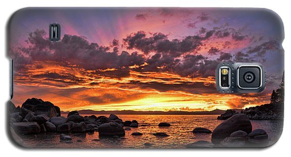 Secret Cove Sunset Galaxy S5 Case