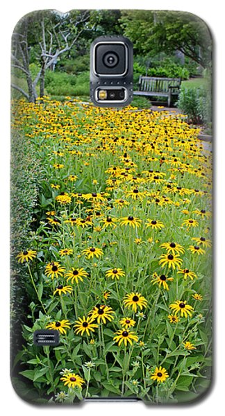 Galaxy S5 Case featuring the photograph Secret Garden by Judy Vincent