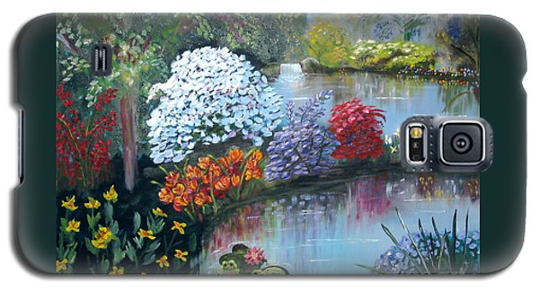 Secret Garden Galaxy S5 Case by Phyllis Kaltenbach