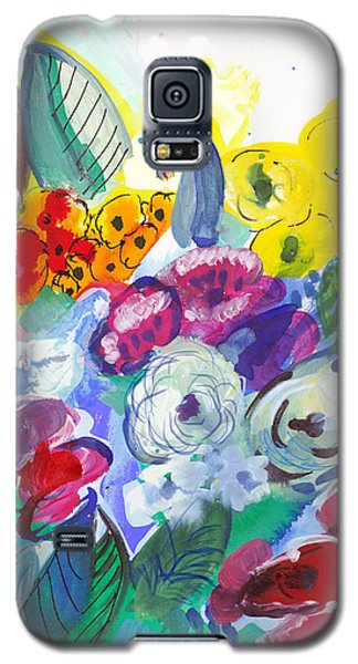 Secret Garden With Wild Flowers Galaxy S5 Case