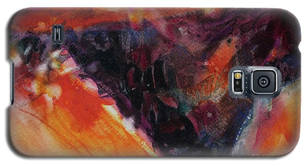Galaxy S5 Case featuring the painting Secret Hideaway by Kathy Braud
