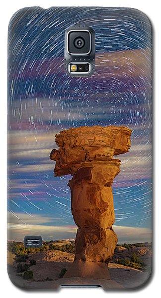 Secret Spire And Star Trails Galaxy S5 Case
