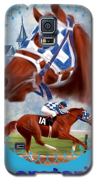 Secretariat Racehorse Portrait Galaxy S5 Case