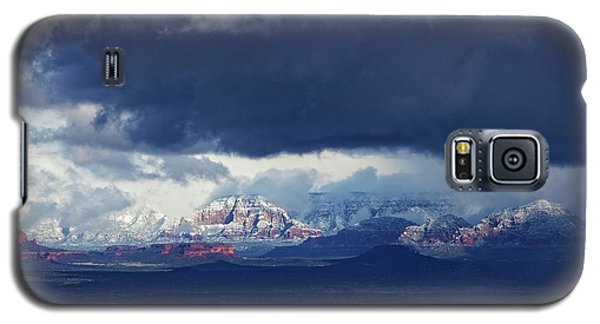 Sedona Area Third Winter Storm Galaxy S5 Case