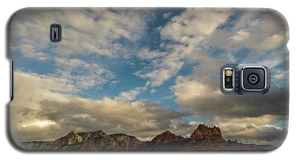 Galaxy S5 Case featuring the photograph Sedona Arizona Redrock Country Landscape Fx1 by David Haskett