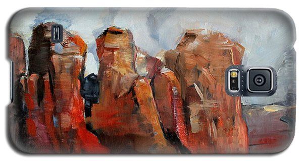Sedona Coffee Pot Rock Painting Galaxy S5 Case