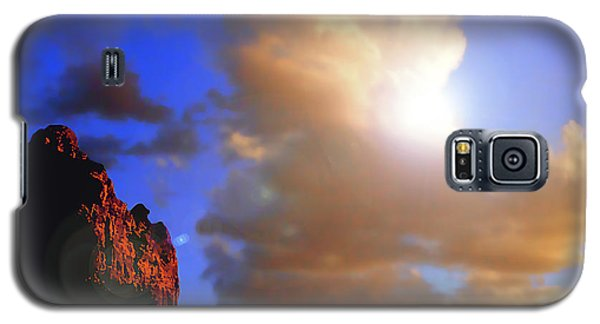 Sedona Mountain Cloud Sun Galaxy S5 Case
