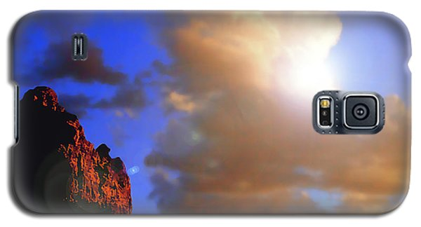 Sedona Mountain Cloud Sun Galaxy S5 Case