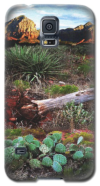 Sedona Mountain Sunrise Galaxy S5 Case