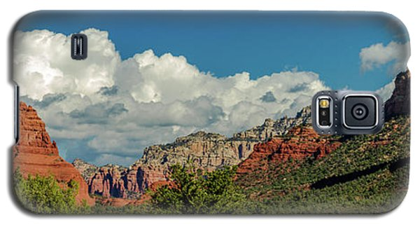 Galaxy S5 Case featuring the photograph Sedona Panoramic II by Bill Gallagher