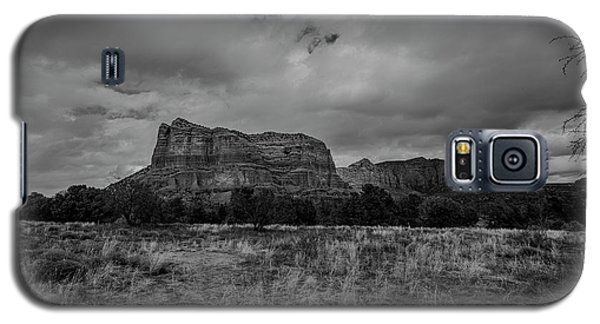 Galaxy S5 Case featuring the photograph Sedona Red Rock Country Arizona Bnw 0177 by David Haskett