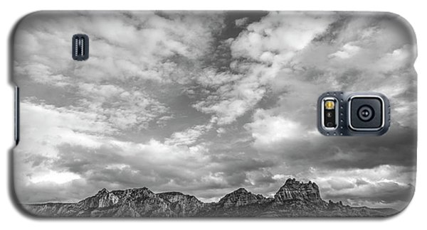 Galaxy S5 Case featuring the photograph Sedona Red Rock Country Bnw Arizona Landscape 0986 by David Haskett