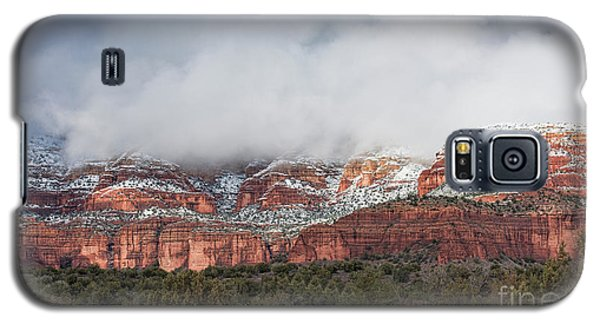 Galaxy S5 Case featuring the photograph Sedona Revealed by Sandra Bronstein