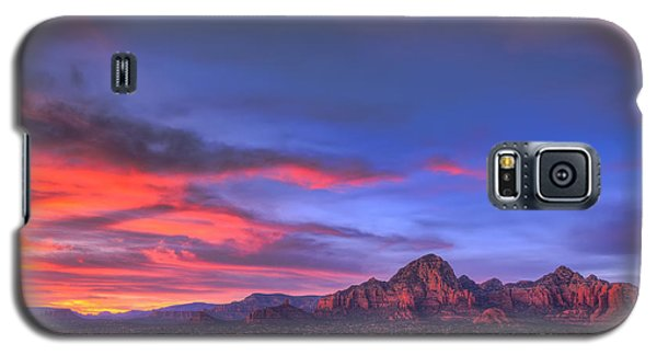 Sedona Sunset Galaxy S5 Case by Eddie Yerkish