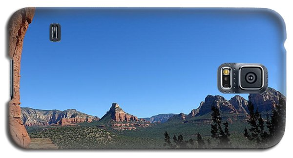 Sedona View From Cave Galaxy S5 Case