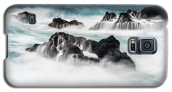 Galaxy S5 Case featuring the photograph Seduced By Waves by Jon Glaser