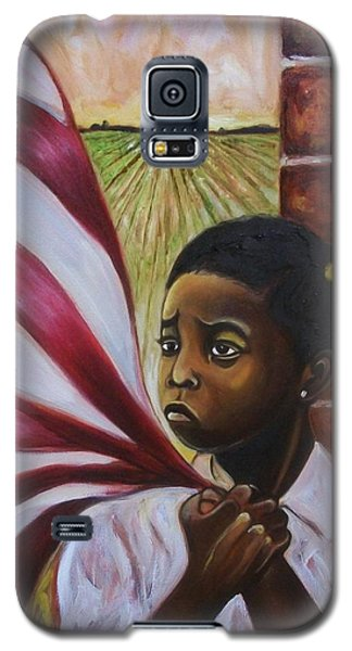 Galaxy S5 Case featuring the painting See Yourself by Emery Franklin