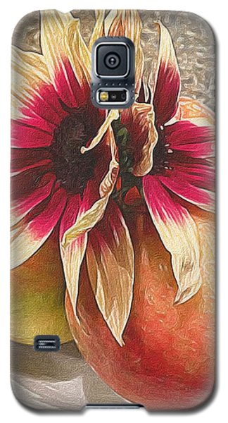 Seeing Double Galaxy S5 Case by Michele Meehl
