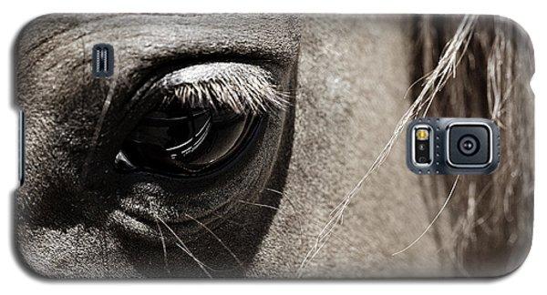 Stillness In The Eye Of A Horse Galaxy S5 Case