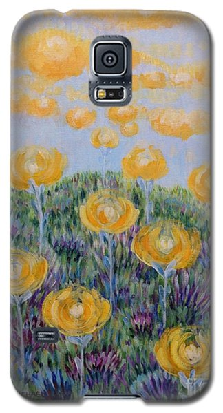 Galaxy S5 Case featuring the painting Seeing Through by Holly Carmichael