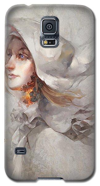 Galaxy S5 Case featuring the digital art Seek V1 by Te Hu