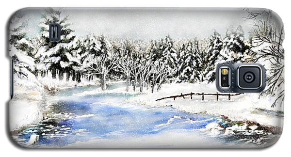 Seeley Montana Winter Galaxy S5 Case