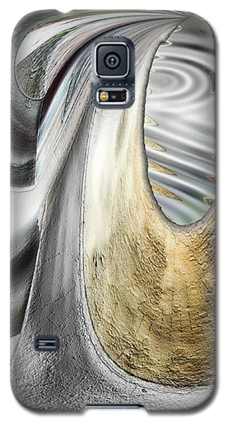 Galaxy S5 Case featuring the digital art Seen In Stone by Wendy J St Christopher