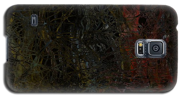 Galaxy S5 Case featuring the digital art Seeweed by Constance Krejci