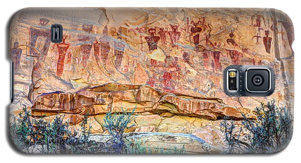 Sego Canyon Indian Petroglyphs And Pictographs Galaxy S5 Case