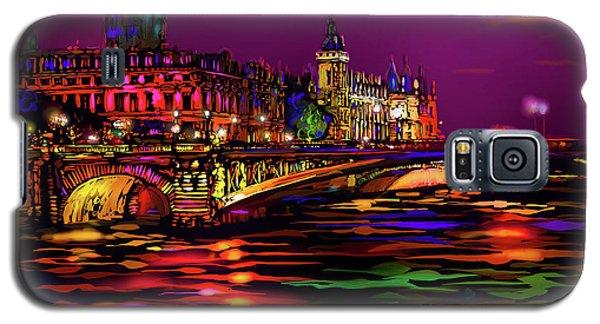 Seine, Paris Galaxy S5 Case by DC Langer