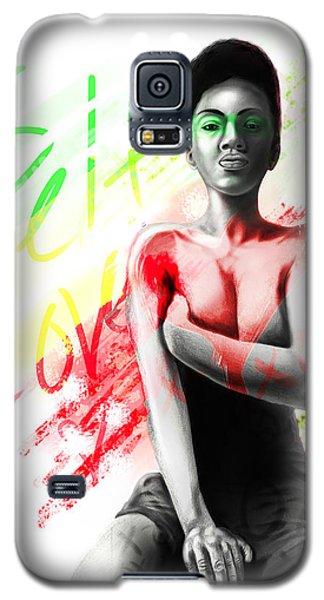 Self Love Xoxo Galaxy S5 Case