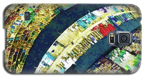Galaxy S5 Case featuring the mixed media Self Portrait 1 by Tony Rubino